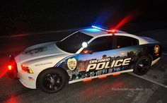 Dodge Charger police car wrap in Orlando Chrysler Charger, Dodge Charger, Police Patrol, Police Cars, Police Officer, American Graffiti, Harrison Ford, Radios, Military Vehicles