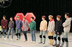 Suho/ Kim Junmyeon and Byun Baekhyun and Park Chanyeol and Do kyungsoo and Oh Sehun and Kai/Kim Jongin and Xiumin/Kim Minseok and Lay/Zhang Yixing and Chen/Kim Jongdae