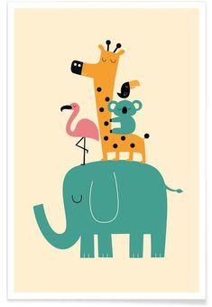 Canvas Wall Art and Canvas Art Prints Online Ballon Illustration, Cute Animal Illustration, Animal Wallpaper, Wallpaper Iphone Cute, Cute Wallpapers, Screen Wallpaper, Iphone Wallpapers, Desktop, Nursery Prints