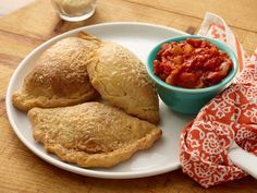Pepperoni Pizza Pocket recipe from Jeff Mauro via Food Network