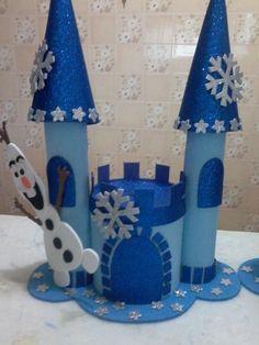 molde de castelo da frozen - Pesquisa Google