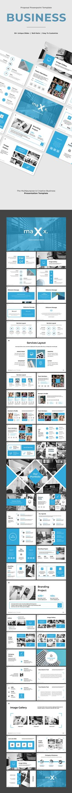 Maxx - Business Powerpoint Template