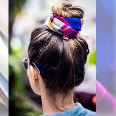 Divertido, fresquito y fácil de hacer. Así es el peinado de la primavera, un moño alto también llamado 'top knot'. #hair #hairstyle #beautytrends #hfashion
