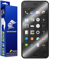 ArmorSuit MilitaryShield - Amazon Fire Phone Screen Protector (Case Friendly) Anti-Bubble Ultra HD - Extreme Clarity & Touch Responsive Shield with Lifetime Free Replacements - Retail Packaging Reviews - http://www.knockoffrate.com/cell-phones-accessories/armorsuit-militaryshield-amazon-fire-phone-screen-protector-case-friendly-anti-bubble-ultra-hd-extreme-clarity-touch-responsive-shield-with-lifetime-free-replacements-retail-packaging-re/