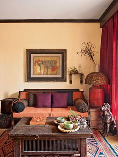 world traveller style with vintage furniture and interiors http