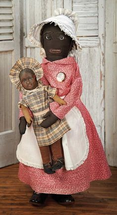 The Blackler Collection (Part 2 of 2-Vol set): 160 American Black Cloth Folk Doll with Early Topsy-Turvy Doll