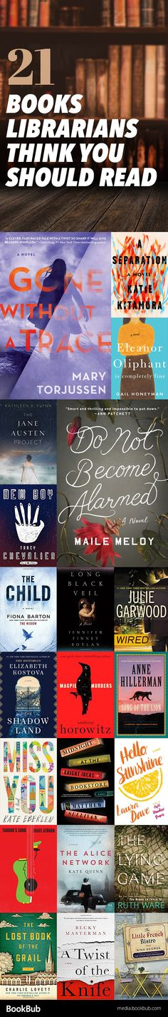 21 Books Librarians Recommend