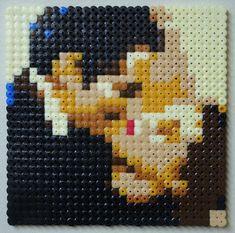 Beaded Cross Stitch, Cross Stitch Art, Cross Stitch Designs, Cross Stitch Patterns, Melty Bead Patterns, Hama Beads Patterns, Modele Pixel, 8bit Art, Diy Perler Beads