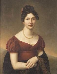 Portrait of an unknown lady | Artist and date unknown