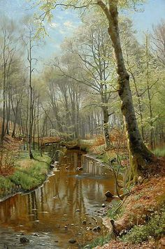 Peder Mørk Mønsted (1859-1941): A New Spring Day