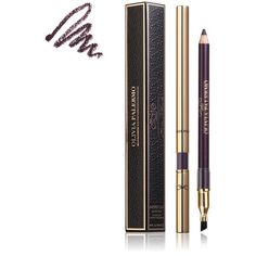 Ciaté Olivia Palermo Smoked Out Eye Pencil ($26) ❤ liked on Polyvore featuring beauty products, makeup, eye makeup, eyeliner, aubergine, hygiene, womens-fashion, pencil eye liner, gel eye liner and pencil eyeliner