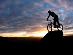 awesome mountain bike wide wallpaper