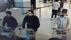 Mídia belga divulgou fotos de supostos autores de atentados a aeroporto de Bruxelas