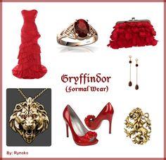 Gryffindor Formal Wear - put together by Rynoko (me=StephieDriver)! :D