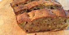 cake pomes poires noisettes, avec de la fécule de pommes de terre ou de la farine de chataigne