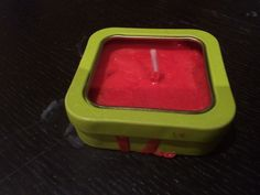 New Candle!! this portable mini candle comes in a convenient green box and a cheap price of only 40dhs