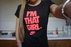 nike t shirt. I'm guilty, I've got way to many of these awesome Nike ts! Nike Outfits, Sport Outfits, Casual Outfits, Adidas Outfit, Workout Attire, Workout Wear, Athletic Outfits, Athletic Wear, Athletic Clothes