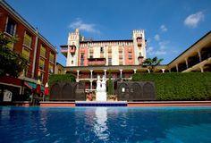 4-Sterne Superior Themenhotel, spanischer Stil, Planung, Realisierung, Ambiente, Atmosphäre