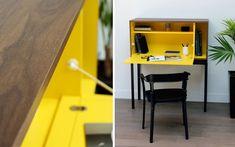 Moderner Sekretär / Holz - MY CITY by Laurent Minguet - MIIING