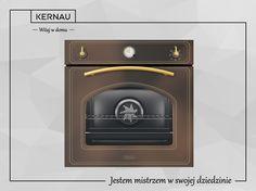 Nowoczesność w stylu retro? Czy takie połączenie jest możliwe? Jeżeli wykorzystacie do tego piekarnik Kernau w niebanalnym kolorze miedzi, na pewno uzyskacie efekt o którym mowa <3. http://bit.ly/Kernau_Piekarnik_KBO_0831_AT_CO