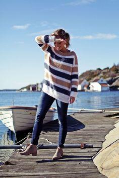 Me Naiset – Blogit | Kalastajan vaimo – Raitapaita rannassa (DIY)