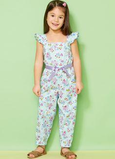 Kwik Sew - Kids - Girls - Dresses & Rompers - Page 1 Dresses Kids Girl, Cute Girl Outfits, Little Girl Outfits, Kids Outfits, Kids Frocks Design, Baby Frocks Designs, Jumpsuits For Girls, Girls Rompers, Kids Dress Patterns