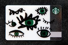 Eye ❤ U. #StarbucksCard