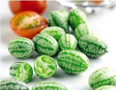 Cucamelons: They're grape-sized watermelons that taste like cucumbers with a tinge of lime