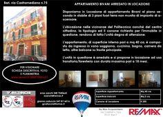 Appena Messo in Locazione Appartamento bilocale arredato Bari Via Castromediano 75 Bari  www.remax.it/20031050-621 info 348 7340665