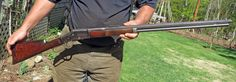 large frame Bullard in 45-70 caliber.It has some nice wood on it! grin