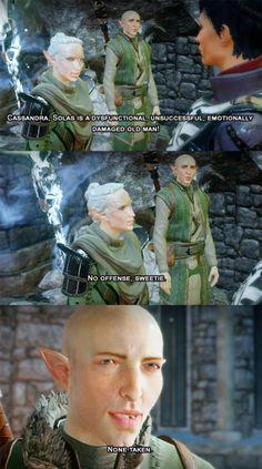 Incorrect Dragon Age