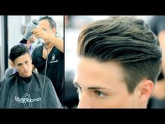 Haircut Tutorial - Men's Undercut - Adam Levine - David Beckham - Brad Pitt - YouTube