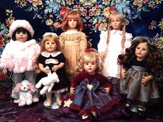 Dolls by Pamela Phillips, artista dolls (Donna RuBert)