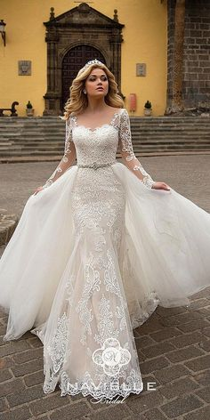 Lace Beach Wedding Dress, Top Wedding Dresses, Gorgeous Wedding Dress, Princess Wedding Dresses, Country Wedding Dresses, Bridal Dresses, Mermaid Wedding, Fairy Dress, Ball Dresses