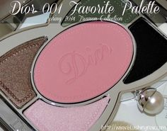 Dior 001 FAVORITE Makeup Palette Swatches, Review & FOTD – Trianon Spring 2014 - BlushingNoir