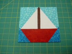 Foundation Paper-Piecing Tutorial Learn How To Paper Piece (Sailboat quilt)