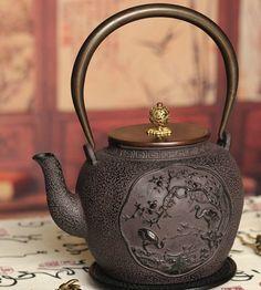 Cast Iron Teapot Premium and Treasure Iron teapot by Chinateaware