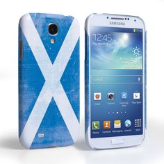 Caseflex Samsung Galaxy S4 Retro Scotland Flag Case | Mobile Madhouse  #Gift #Present #Samsung #Galaxy #S4 #SamsungS4 #GalaxyS4 #Case #Cover #HardCase #PhoneCover #Retro #Distressed #Flag #Scotland #Scottish