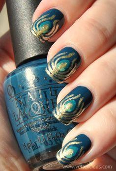 peacock nail art sun no flash600 x 887 | 90.6 KB | vettelicious.com