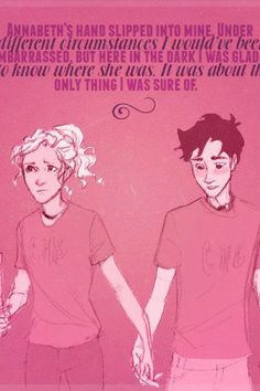 One of the first Percabeth moments :)