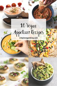We've shared many appetizer recipes on the blog, but these are our favorite ones. These 10 vegan appetizer recipes are delicious, super easy to make and you're going to love them so much. You can also eat some of them as a healthy snack when you're hungry. Hope you like them! 1.- Porra Antequerana (Spanish Cold Tomato...Continue Reading →