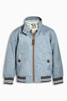 Buy Blue Harrington Jacket (3mths-6yrs) from the Next UK online shop
