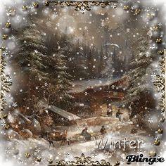 Christmas Scenery, Christmas World, Christmas Pictures, Christmas Art, Winter Christmas, Christmas Wishes Quotes, Christmas Thoughts, Christmas Greetings, Christmas Animated Gif