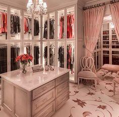 Glamorous dream closet