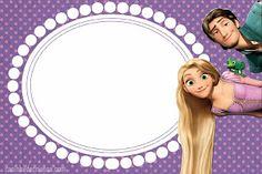 convite rapunzel