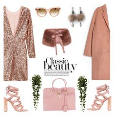 Classic calls by pensivepeacock on Polyvore featuring polyvore, fashion, style, Acne Studios, Casadei, Yves Saint Laurent, Simons, CÉLINE, Nearly Natural and clothing