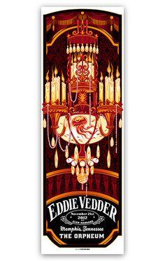 Eddie Vedder poster by MunkOne