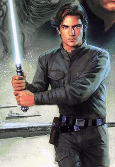 Jacen Solo before his turn to the Dark Side.