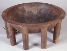 Samoan kava bowl.