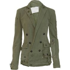 Greg Lauren Army Tent Jacket, found on polyvore.com